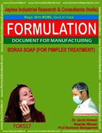 Borax Soap for Pimple Treatment