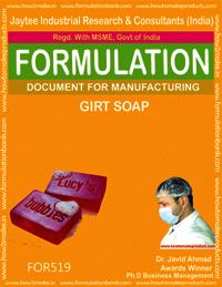 FORMULA FOR MAKING GIRT SOAP