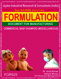 COMMERCIAL BABY SHAMPOO (MISCELLANEOUS)