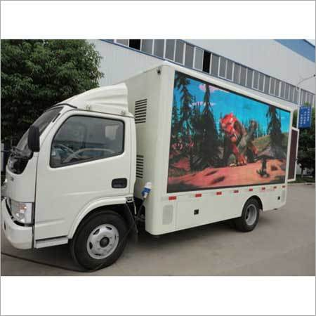 Mobile VAN LED Screen