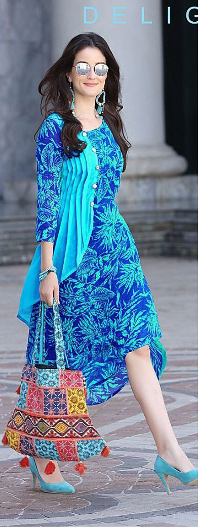 Exceptional Heavy Georgette Printed Kurtis