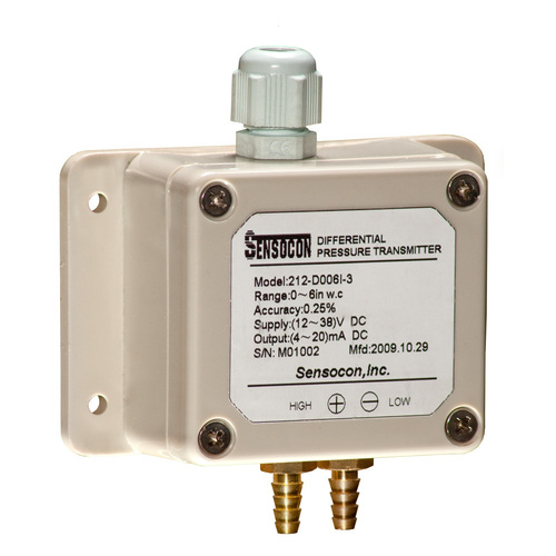 Series 212 Weather-Proof Differential Pressure Transmitter