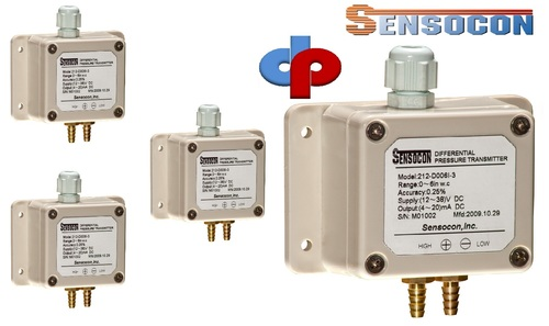 Sensocon USA 212-D001K-1 Differential Pressure Transmitter
