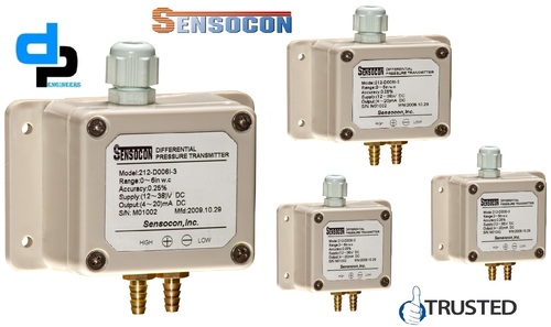 Sensocon USA 212-D002I-1 Differential Pressure Transmitter