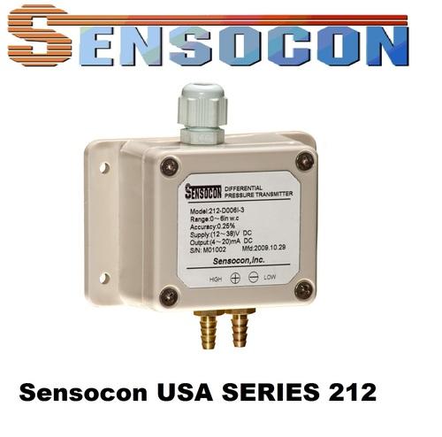 Sensocon USA 212-D010I-3 Differential Pressure Transmitter