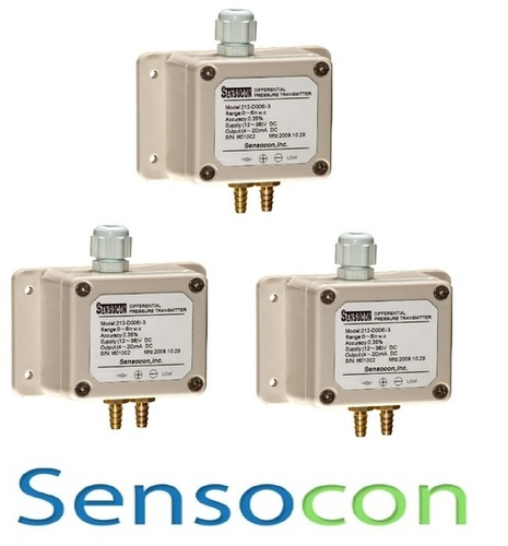 Sensocon USA 212-D010K-3 Differential Pressure Transmitter