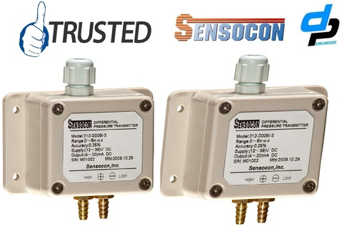 Sensocon USA 212-D004I-1 Differential Pressure Transmitter