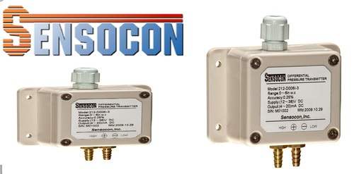 Sensocon USA 212-D010I-3 Differential Pressure Transmitter