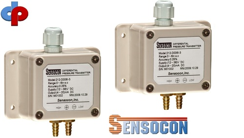 Sensocon USA  212-D015P-3 Differential Pressure Transmitter