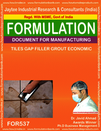 Tiles gap filler grout economic