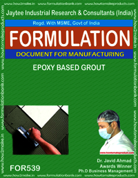 Epoxy based grout