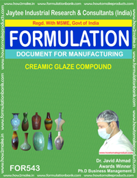 Ceramic glaze compound