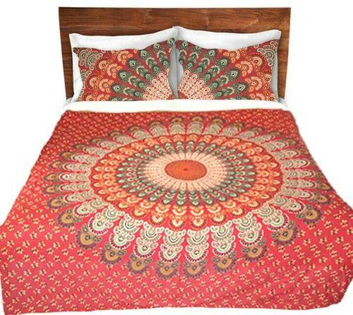 Mandala Tapestry Bed Cover