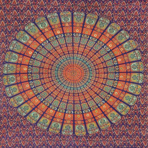 Mandala Cotton Tapestry Bedsheet