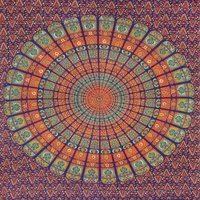 Mandala Cotton Tapestry Bedsheet