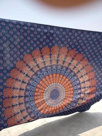 Tapestry Mandala Cotton Bed Cover