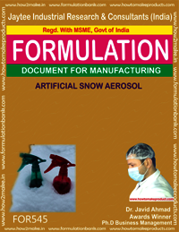 ARTIFICAL SNOW AEROSOL
