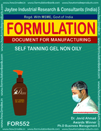 SELF TAINING GEL NON OILY