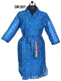 10 Vintage Recycled Silk Sari Womens Kimono Robe DR207