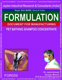 PET BATHING SHAMPOO CONCENTRATE
