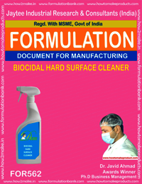 Biocidal hard surface cleaner