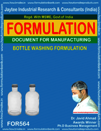 BOTTLE WASHING FORMULA