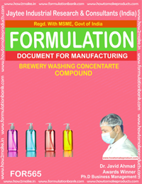 BREWARY WASHING CONCENTRATE COMPOUND