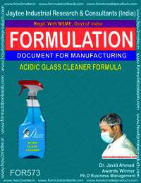 ACIDIC GLASS CLEANER