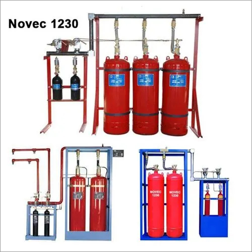 Automatic NOVEC 1230 Gas Flooding System