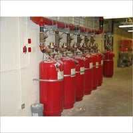 Fire Suppression System for Server Room