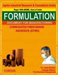 Carrogated Fiber Board Adhesive STRH