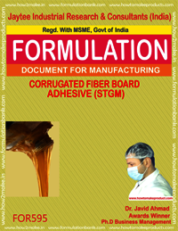 Carrogated Fiber Board Adhesive STGM