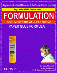 Formula For Paper Glue