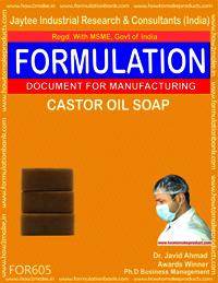 Castor Oil Soap