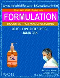Detol Type Anticeptic Liquid CBK