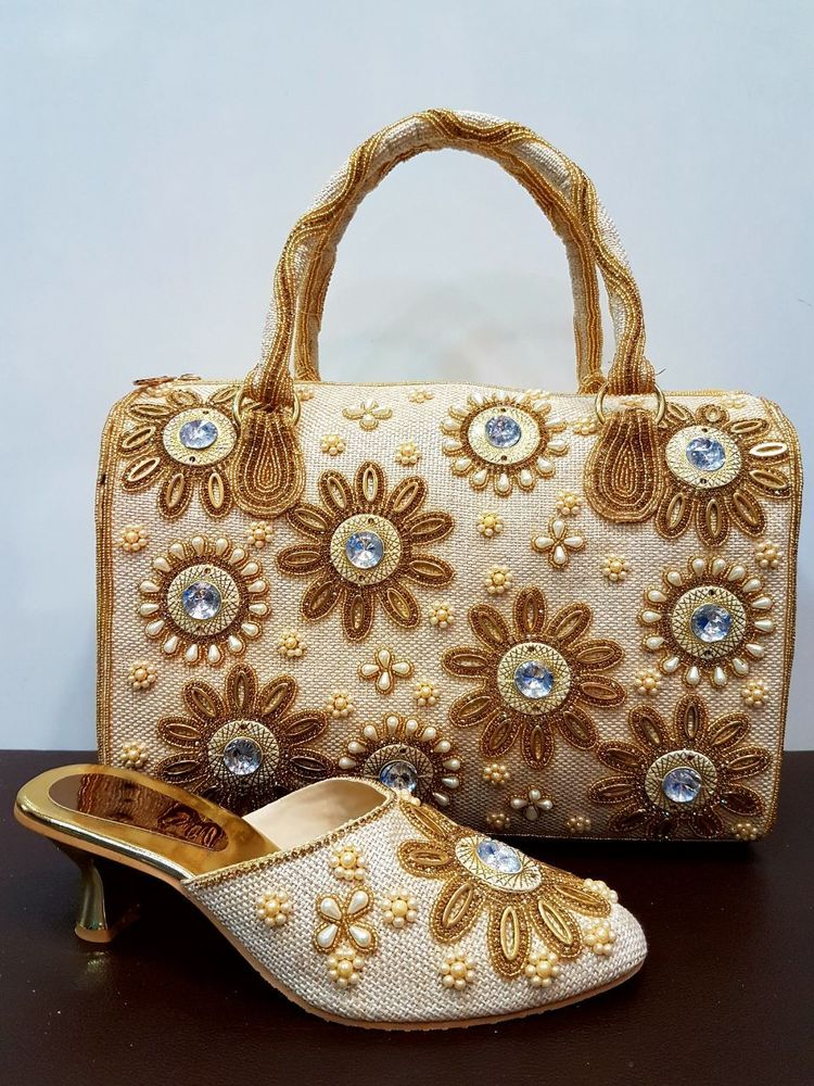 Designer Bag with Matching Shoes