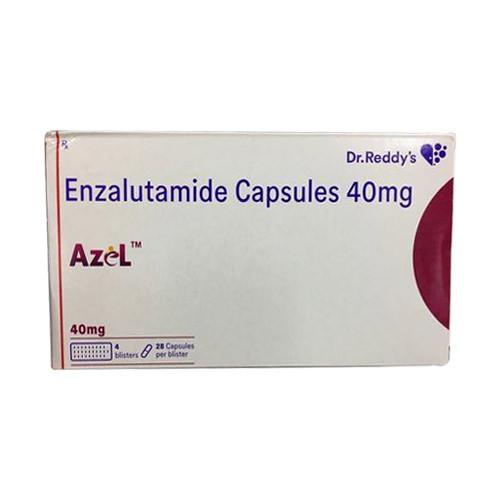 Azel Enzalutamide 40mg Dr. Reddy