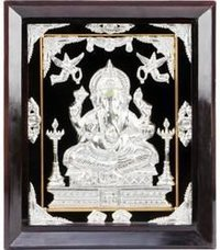 Silver Plated Religious Frame