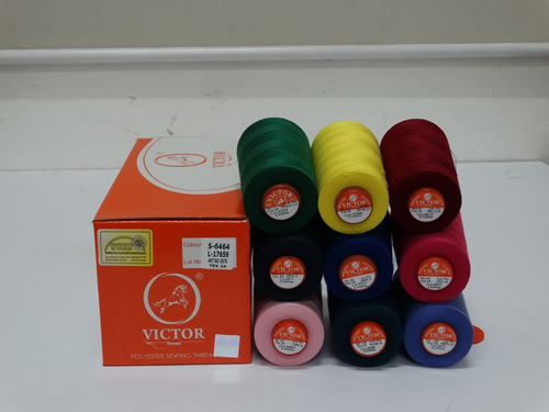 Multi Colored Polyester Thread