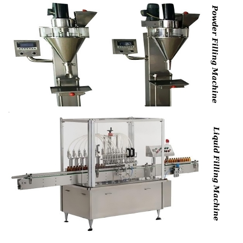 Powder Filling Machine & Liquid Filling Machine