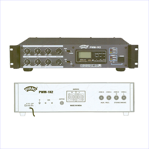 Dual Channel Power Amplifiers