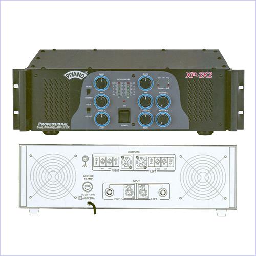 Dual Channel Power Amplifiers