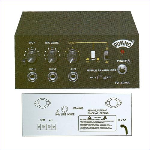 Low Podwer PA Amplifiers
