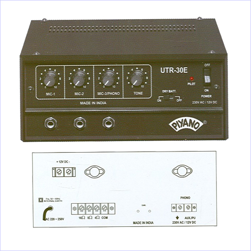 Low Podwer PA Amplifiers