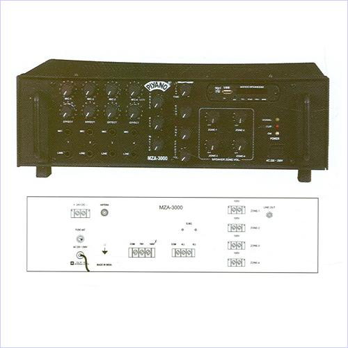 MUlti Zone PA Amplifiers