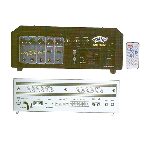 PA Amplifiers wiht Digital Players