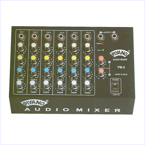 PA Audio Mixers