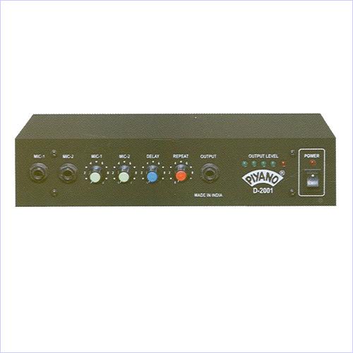 PA Digital Echo Mixers
