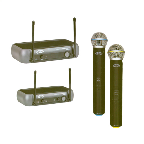 511 & PWM-512_Professional VHF Wireless Microphones