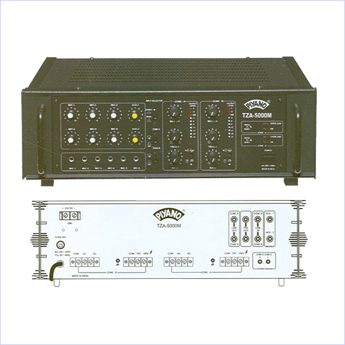 Two Zone PA Amplifiers